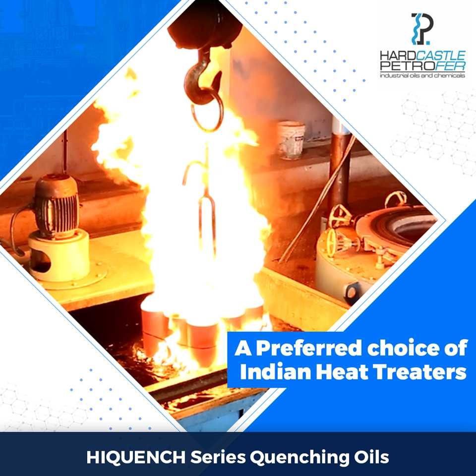 Polymer quenchants & Quenching Oils supplier, manufacturer in India